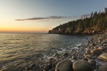 Dawn in Monument Cove in Maine's Acadia National Park. by Danita Delimont