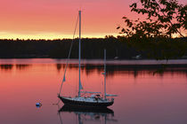 Sunrise, Quahog Bay, Bailey Island, Maine, USA. von Danita Delimont