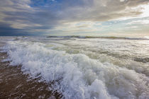 Surf at Nauset Light Beach in the Cape Cod National Seashore... by Danita Delimont