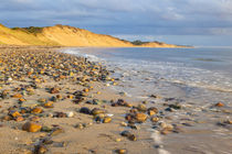 Low tide on Duck Harbor Beach in Wellfleet, Massachusetts von Danita Delimont