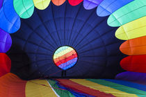 USA, Massachusetts, Hudson, Ballon Festival, hot air balloon interior by Danita Delimont
