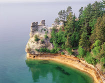 USA, Michigan, Miner's Castle, Pictured Rocks National Seash... von Danita Delimont