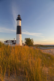 Big Sable Point Lighthouse on Lake Michigan at Ludington Sta... von Danita Delimont