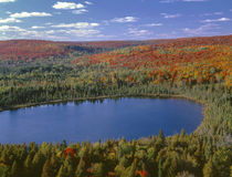 USA, Minnesota, Superior National Forest, Fall colored north... von Danita Delimont