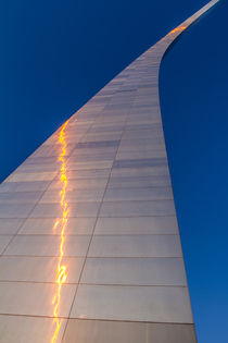 The Gateway Arch in St by Danita Delimont