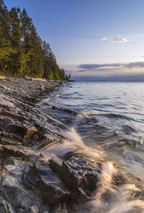 Flathead Lake West by Danita Delimont
