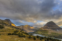 Late stormy light above Hidden Lake at Logan Pass in Glacier... von Danita Delimont