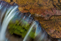 Colorful cascade on Oberlin Creek in Glacier National Park, ... von Danita Delimont