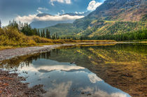 Fishercap Lake, Glacier National Park, near Kalispell and Ma... von Danita Delimont