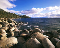USA, Nevada, Lake Tahoe Nevada State Park, View of lake Tahoe by Danita Delimont