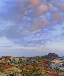 Colorful landscape of Rainbow Vista, Valley of Fire State Pa... by Danita Delimont
