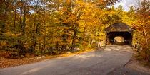 Albany Covered Bridge near Conway, New Hampshire, USA. von Danita Delimont
