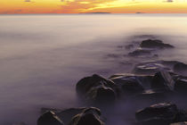 Dawn at Wallis Sands State Park in Rye, New Hampshire. by Danita Delimont