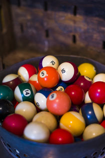 USA, New Jersey, Lambertville, antique billiard balls by Danita Delimont