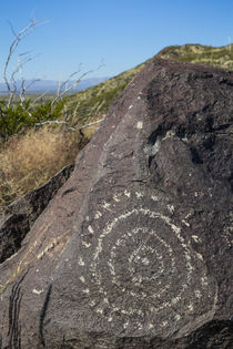 USA, New Mexico, Three Rivers Petroglyph Site von Danita Delimont
