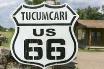 Tucumcari Route 66 sign, New Mexico, USA. by Danita Delimont