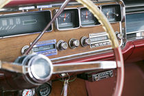 Interior of an old classic car, Tucumcari, New Mexico, USA von Danita Delimont