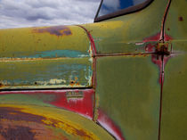 Detail of abandoned truck in New Mexico by Danita Delimont
