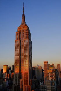 Sunset over the Empire State Building, New York City, New York by Danita Delimont