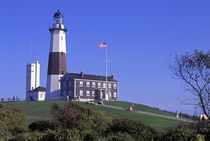 Montauk Lighthouse, Montauk Point, Long Island, New York by Danita Delimont