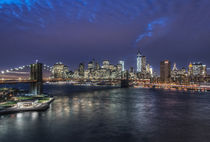 Twilight Manhattan by Danita Delimont