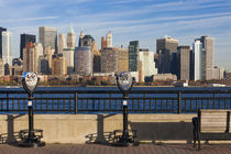 USA, New York, New York City, lower Manhattan skyline from J... by Danita Delimont