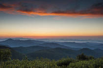 Tennant Mt, Graveyard Fields area, sunrise, North Carolina, by Danita Delimont