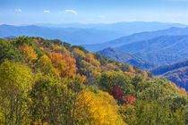 North Carolina, Great Smoky Mountains National Park, view fr... by Danita Delimont
