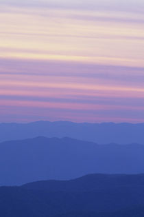 Sunset at Clingmans Dome Great Smoky Mtn National Park, North Carolina von Danita Delimont