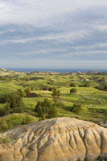 USA, North Dakota, Theodore Roosevelt National Park, Badland... von Danita Delimont