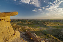 Usa, North Dakota, Theodore Roosevelt National Park, North U... by Danita Delimont