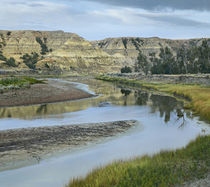 Little Missouri River, Theodore Roosevelt National Park, North Dakota by Danita Delimont
