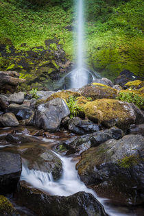 Elowah Falls in the Columbia River Gorge, Oregon USA by Danita Delimont