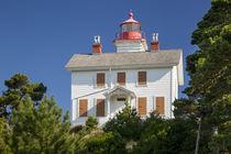Yaquina Bay Lighthouse, Newport, Oregon, USA by Danita Delimont