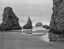 USA, Oregon, Coast Bandon Beach Monoliths by Danita Delimont
