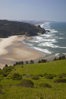 OR, Cascade Head, view of beach by Danita Delimont
