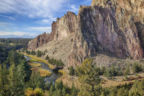 USA, Oregon, Smith Rock State Park, Crooked River by Danita Delimont
