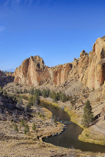 USA, Oregon, Smith Rock State Park, Crooked River von Danita Delimont