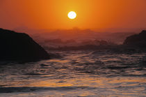 Sunset at Seal Rock: Oregon, USA von Danita Delimont