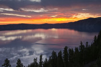 Crater Lake at Sunrise, Crater Lake National Park, Oregon, USA by Danita Delimont