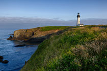 USA, Oregon, Newport, Yaquina Head, historic Yaquina Head Li... by Danita Delimont