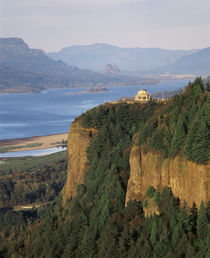 USA, Oregon, Columbia River Gorge, View of Crown Point by Danita Delimont