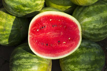 Watermelon for sale at a farmer's market, Charleston, South Carolina von Danita Delimont