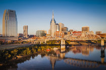 Early morning over Nashville, Tennessee, USA. von Danita Delimont