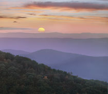 Sunrise over Blue Ridge Mountains, Great Smoky Mountains Nat... by Danita Delimont