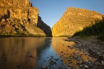 Santa Elena Canyon and Rio Grande by Danita Delimont