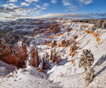 USA, Utah, Bryce Canyon National Park, Winter morning in the... von Danita Delimont
