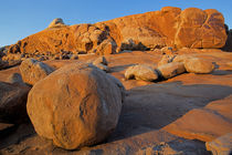 USA, Utah, Moab, sandstone, boulder by Danita Delimont