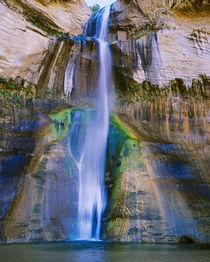 Lower Calf Creek Falls in Grand Staircase-Escalante Nat by Danita Delimont