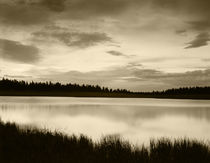 USA, Utah, View of clouds reflecting in lake at Dixie National Forest von Danita Delimont